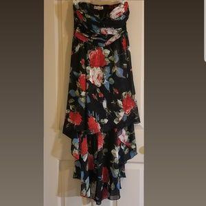 PARISIAN Sweet Heart Tube High Low Dress Size M